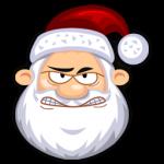 Icono enojado de SantaClaus