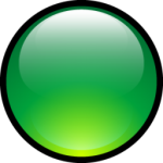 Aqua Ball Green Icono