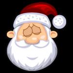 Icono de SantaClaus durmiendo