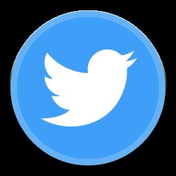 Icono de Twitter - ico,png,icns,Iconos Descargar libre