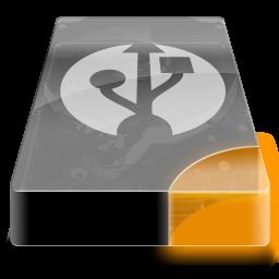 drive 3 uo external usb icon