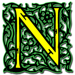letter n icon