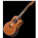 wood guitar icon