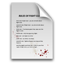 Rules of Fight Club icon