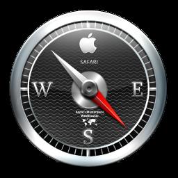 Safari Black icon