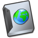 document globe icon